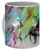 Horse Racing 04 Coffee Mug