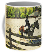 Horse Showing Coffee Mug