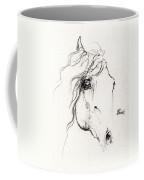 Horse Sketch 2014 05 24a Coffee Mug