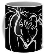 Horse- Together 5 Coffee Mug