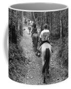 Horse Trail Coffee Mug by Frozen in Time Fine Art Photography