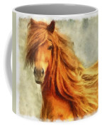 Horse Two Coffee Mug
