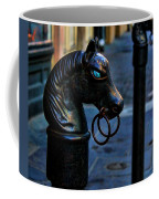 Horse With Blue Eyes Coffee Mug