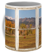 Horses And Autumn Colorado Front Range Picture Window View Coffee Mug by James BO  Insogna