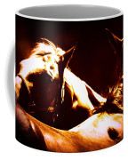 Horses In The Afternoon Coffee Mug