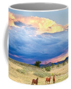 Horses On The Storm 2 Coffee Mug by James BO  Insogna