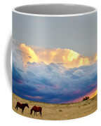 Horses On The Storm Coffee Mug by James BO  Insogna