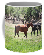 Horses Out Wickenburg Way Coffee Mug