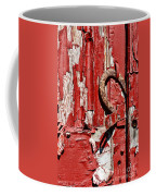 Horseshoe Door Handle Coffee Mug by Paul Ward
