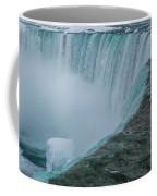 Horseshoe Falls Ice Formations Coffee Mug