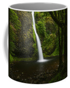Horsetail Falls Columbia River Gorge Coffee Mug