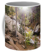 Horsethief Falls Sunburst - Cripple Creek Colorado Coffee Mug