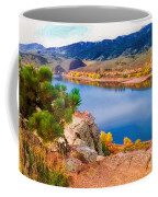 Horsetooth Lake Overlook Coffee Mug by Jon Burch Photography