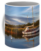 Horsey Mere In Evening Light Coffee Mug
