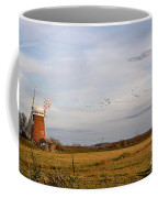 Horsey Windmill In Autumn Coffee Mug