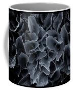 Hosta Leaves Bw Coffee Mug