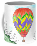 Hot Air Balloon 10 Coffee Mug