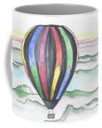 Hot Air Balloon 12 Coffee Mug