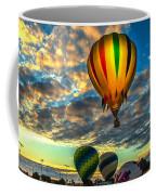 Hot Air Balloon Lift Off Coffee Mug