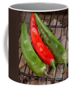 Hot And Spicy - Chiles On The Grill Coffee Mug