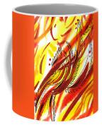 Hot Lines Twist Abstract Coffee Mug
