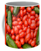 Hot Peppers And Cherry Tomatoes Coffee Mug by James BO  Insogna