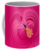 Hot Pink And Round Coffee Mug by Anne Gilbert