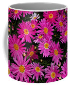 Hot Pink Daisies Coffee Mug