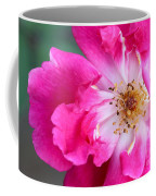 Hot Pink Rose Coffee Mug