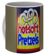 Hot Pretzels Coffee Mug by Skip Willits