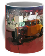 Hot Rod Icon Coffee Mug