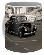Hot Rod On The Street Coffee Mug