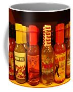 Hot Sauce Display Shelf Two Coffee Mug