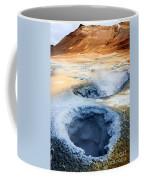 Hot Springs At Namaskard In Iceland Coffee Mug