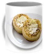 Hot Toasted Crumpets With Butter Coffee Mug