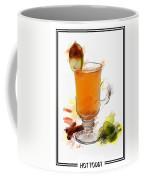 Hot Toddy Cocktail Marker Sketch Coffee Mug