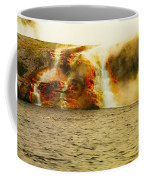 Hot Water Pouring Coffee Mug