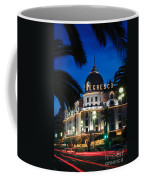 Hotel Negresco Coffee Mug by Inge Johnsson