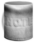 Hotel Towel Coffee Mug