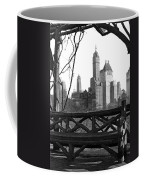 Hotels Seen From Central Park  Coffee Mug