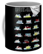 House & Garden Cover Illustration Of 18 Houses Coffee Mug