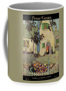 House & Garden Cover Illustration Of An Coffee Mug