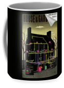 House And Garden Cover Illustration Of The Internal Coffee Mug