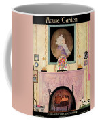 House And Garden Autumn Decorating Number Cover Coffee Mug