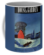 House And Garden Christmas Decoration Cover Coffee Mug
