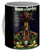 House And Garden Cover Featuring Fruit Coffee Mug