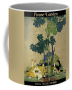 House And Garden Cover Coffee Mug by H. George Brandt