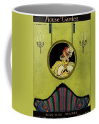 House And Garden Furniture Number Cover Coffee Mug