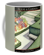 House And Garden Garden Furnishings Number Cover Coffee Mug