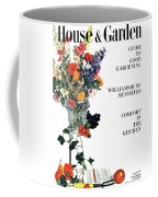House And Garden Guide To Good Gardening Cover Coffee Mug